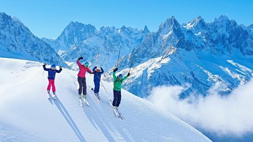 February: the family ski trip